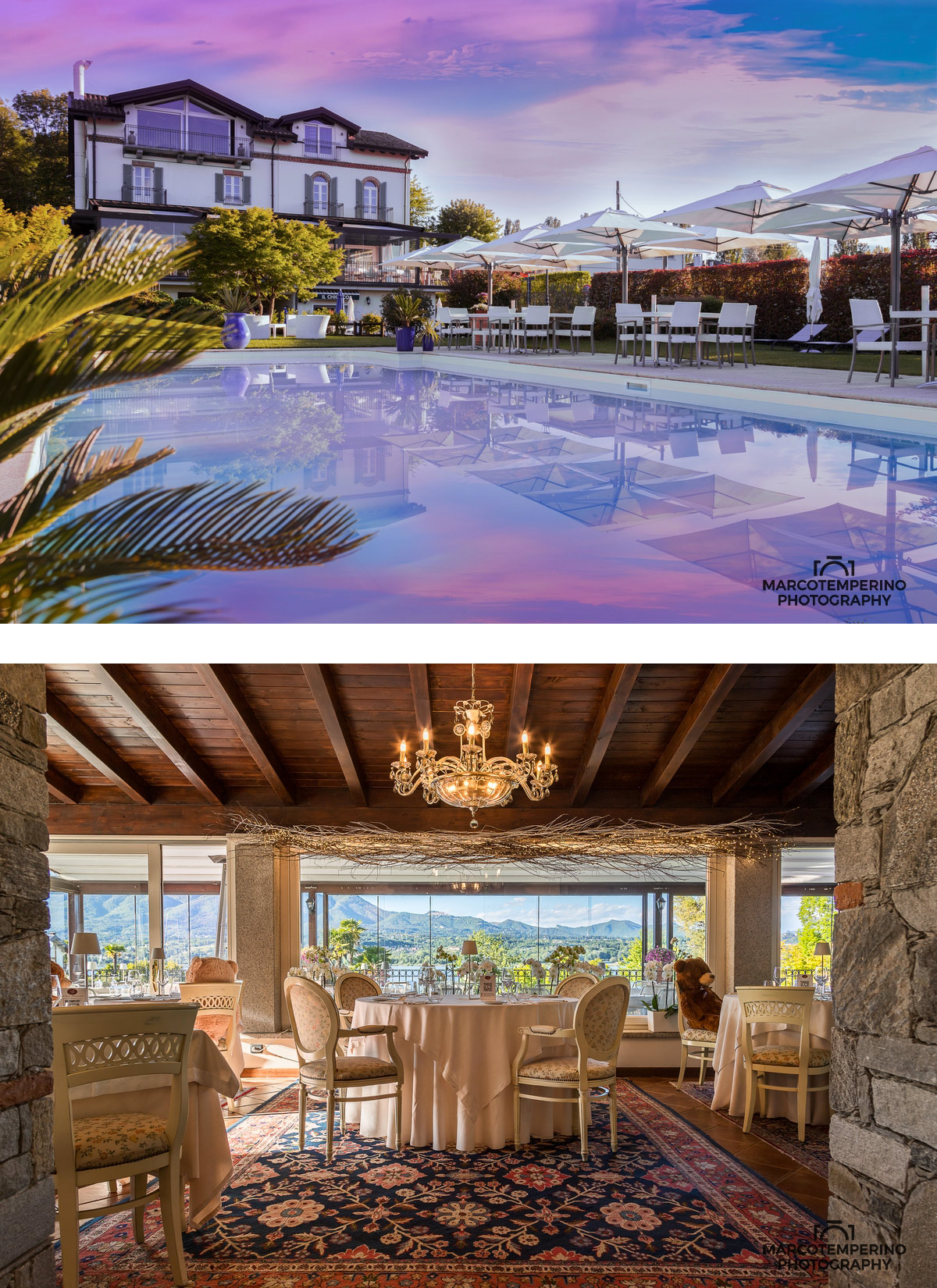 Foto home page Villa Baroni